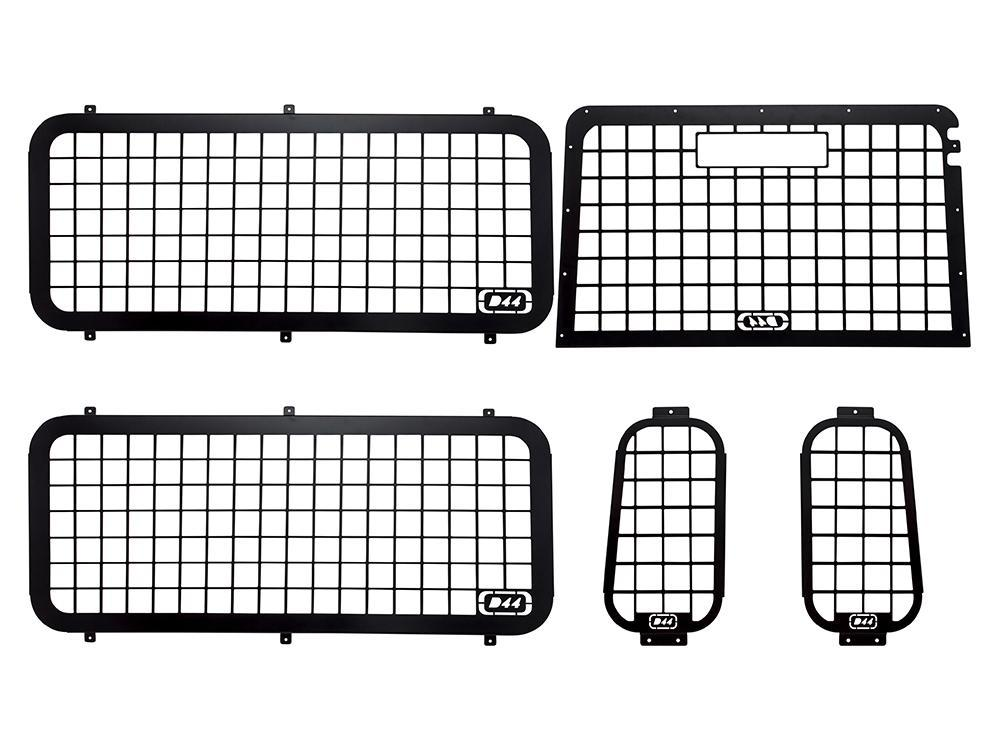 Land Rover External Window Guard Set