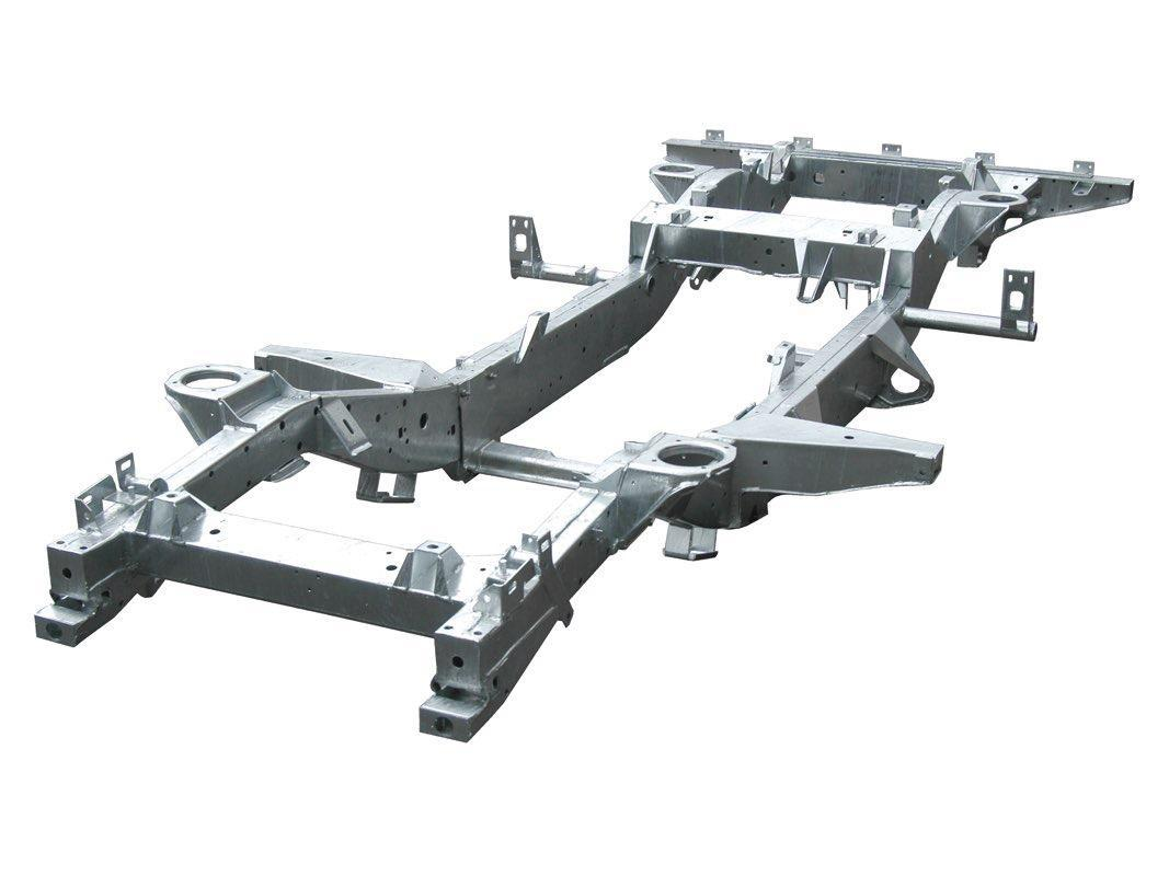 Land Rover Galvanised Chassis