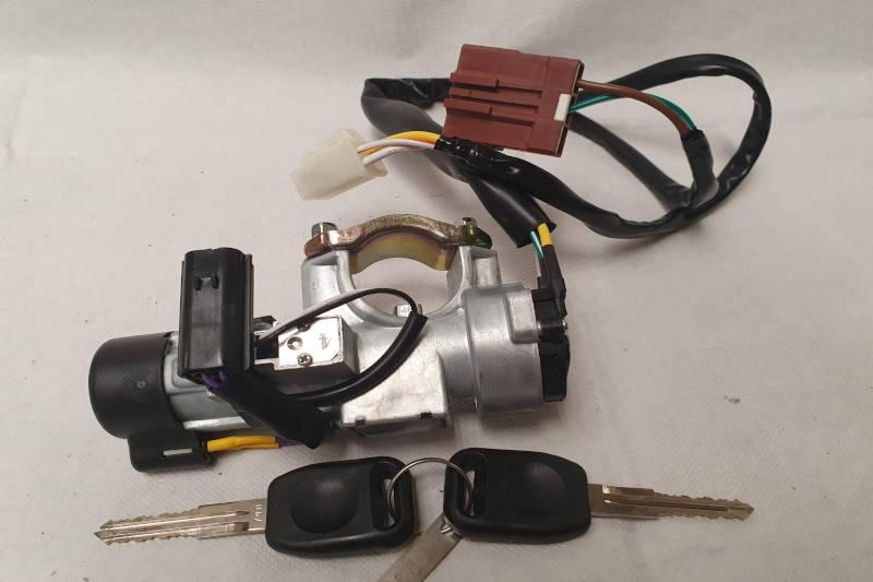 Safari Engineering Land Rover Specialist Hampshire Eversley - Steering Column Lock With Keys Ignition Switch & Wiring - Range Rover Discovery 1 STC1435R