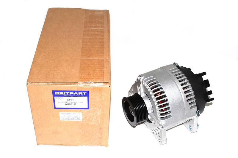 Safari Engineering Land Rover Specialist Hampshire – Alternator to fit Range Rover Classic & Discovery 1 V8 A127 - 100AMP - Britpart AMR3107