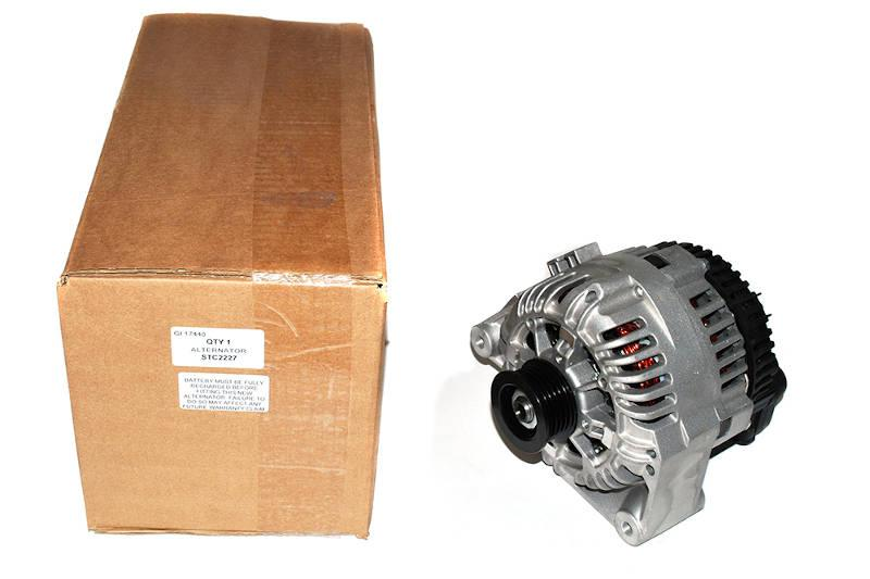 Safari Engineering Land Rover Specialist Hampshire – Alternator Assembly Range Rover P38 2 5L 6 Cyl A133 - 105Amp New Exchange Britpart STC2227