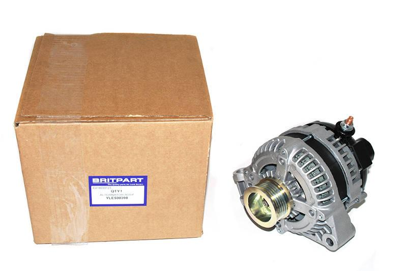 Safari Engineering Land Rover Specialist Hampshire – Alternator Assembly Range Rover Sport Range Rover 02 - 09 Discovery 3 - Britpart YLE500390