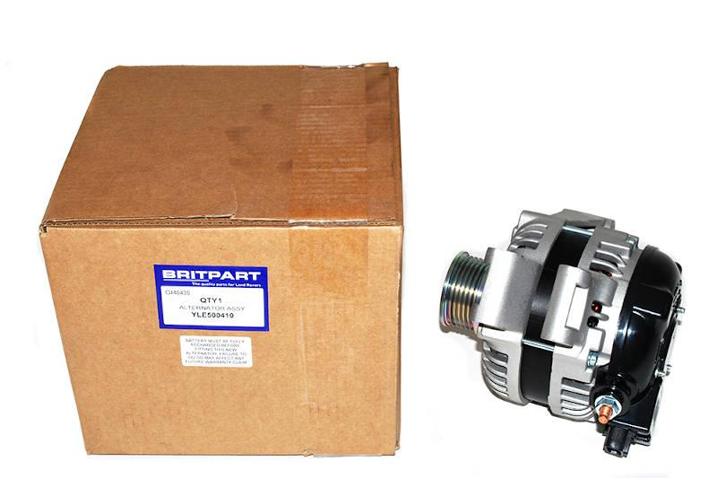 Safari Engineering Land Rover Specialist Hampshire – Alternator Assembly To Fit Discovery 3 & Discovery 4 4L V6 Models - Britpart YLE500410
