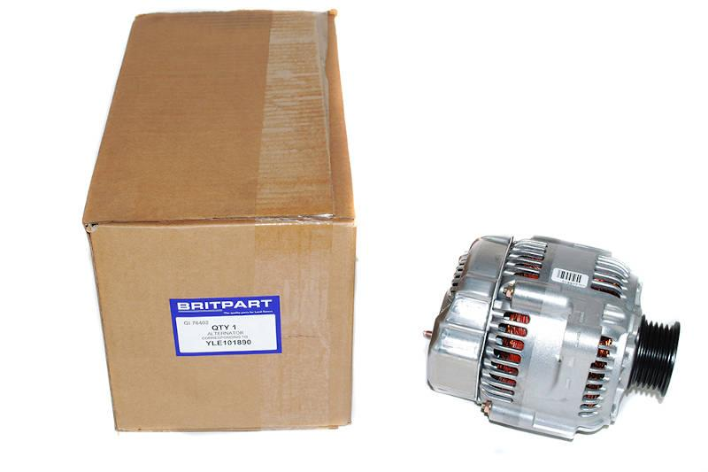 Safari Engineering Land Rover Specialist Hampshire – Alternator Assembley - Freelander 1996 - 2006 1.8L Petrol Non Air Con - Britpart YLE101890