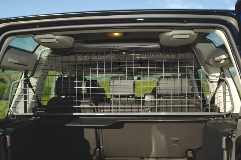 Safari Engineering Land Rover Specialist Hampshire Half Height Grey Mesh Type Dog Guard To fit Discovery 2 – Britpart STC50323