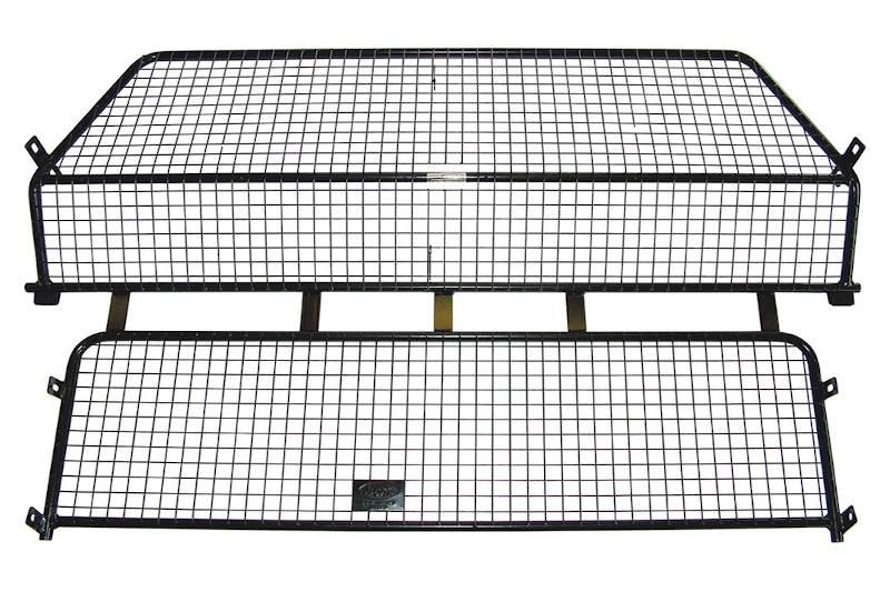 Safari Engineering Land Rover Specialist Hampshire Full Height Black Mesh Dog Guard To Fit Discovery 3 Discovery 4 - Britpart VUB501170LR