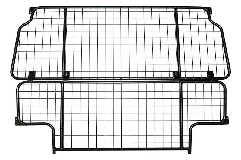 Safari Engineering Land Rover Specialist Hampshire Black Mesh Dog Guard To Fit Defender 110 2007 Onwards Station Wagon & Utility - Britpart DA5539