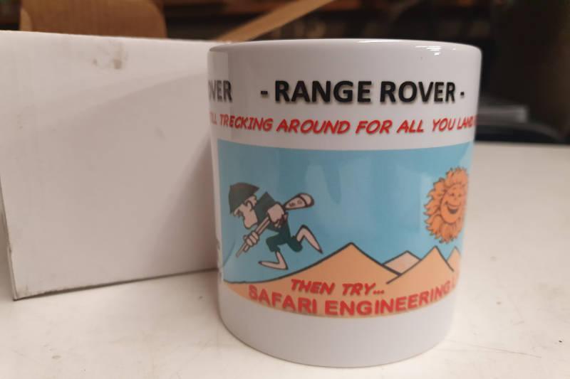 Safari Engineering Land Rover Specialist Hampshire Eversley – Safari Engineering Logo Coffee Mug - Original Logo Printed - Dishwasher Safe - White