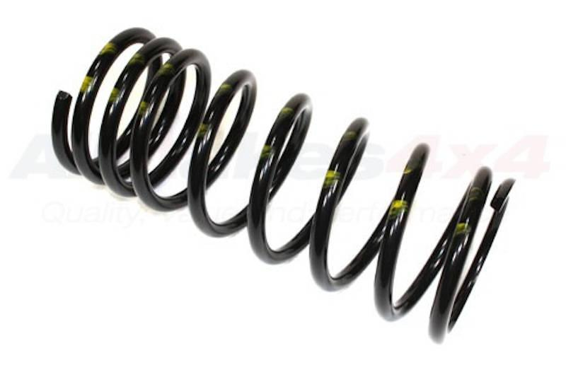 Safari Engineering Land Rover Specialist Hampshire – Front Coil Spring Nearside - Yellow Paint to fit Defender 110 - Allmakes4x4 NRC8045
