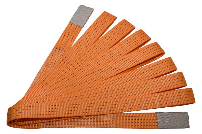 Safari Engineering Land Rover Specialist Hampshire Eversley - Tow Strap - Orange Loop & Loop - To Fit all Land Rovers - Universal - Britpart DA1283