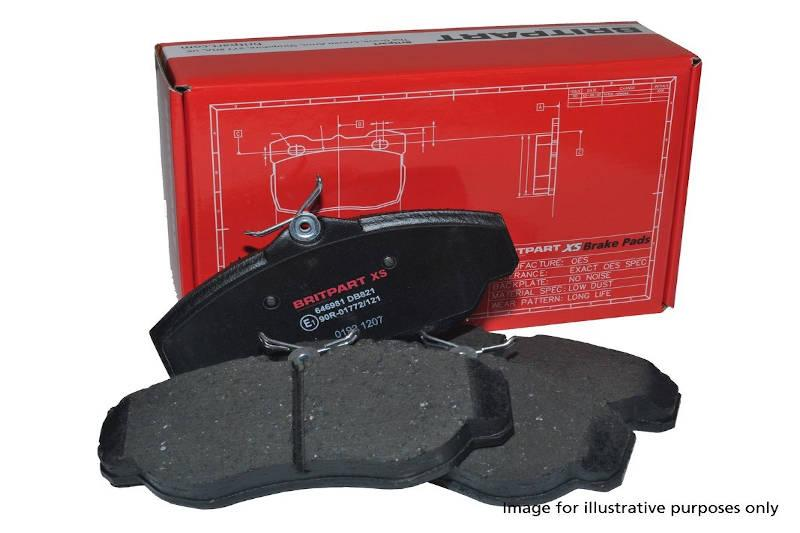 XS Brake Pad Set - Freelander 2 - Rear