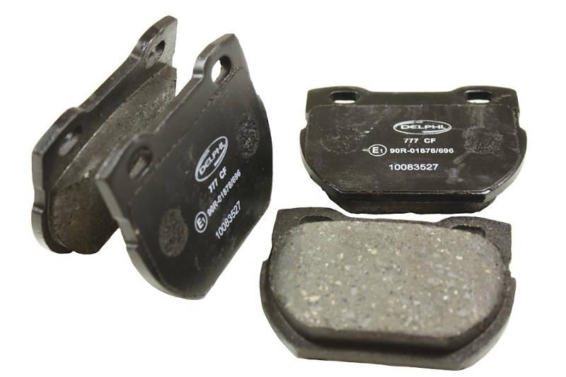 Safari Engineering Land Rover Specialist Hampshire – Rear Brake Pad Set Nearside & Offside - Defender 110 Defender 130 - Bearmach STC1277L