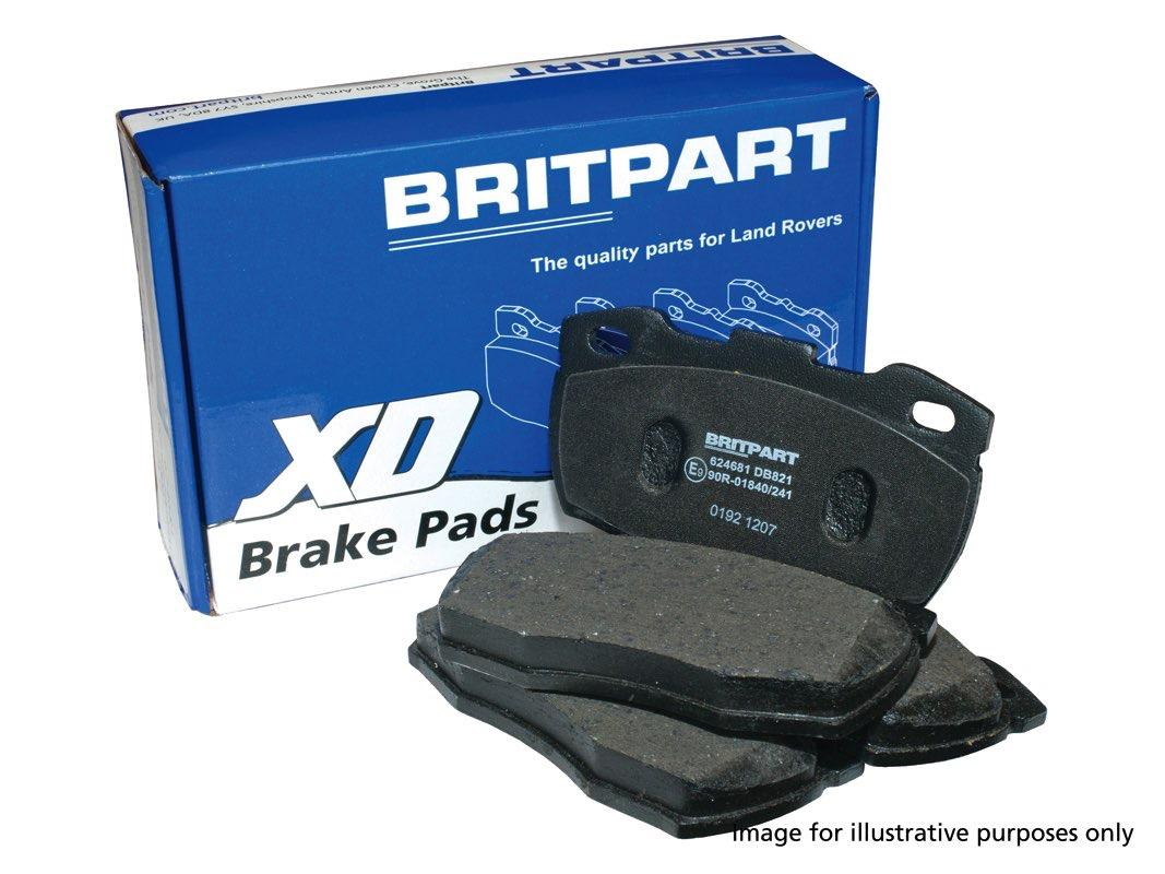 XD Brake Pad Set - Defender 1987 - 2006 - Rear