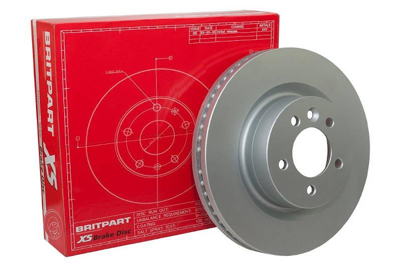 Safari Engineering Land Rover Specialist Hampshire – Front Vented Brake Disc Defender Discovery 1 Range Rover Classic - Britpart LR017952G