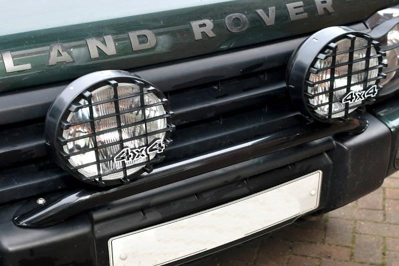 Safari Engineering Land Rover Specialist Hampshire – 8 Inch Driving Light 100W Black - Range Rover - Land Rover Series - Defender - Discovery - DA4088