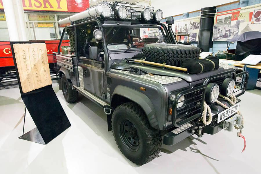 Safari Engineering land Rover Experts Tomb Raider Land Rover
