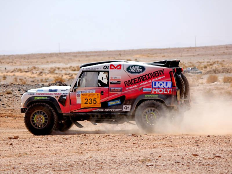 Safari Engineering Land Rover Specialists in Eversley Dakar Rally