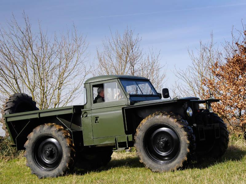 Safari Engineering Land Rover Specialist Eversley Forestry Monster Truck