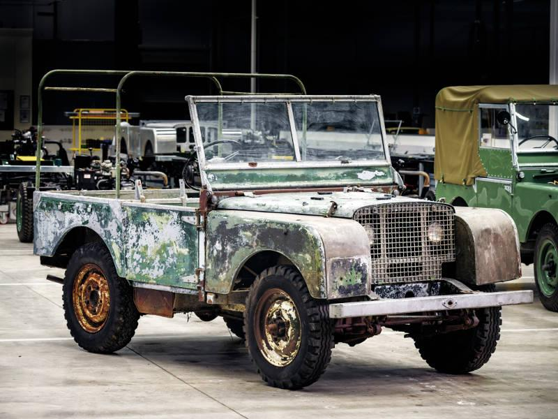 Safari Engineerinf Land rover Specialist Eversley Series 1 Prototype