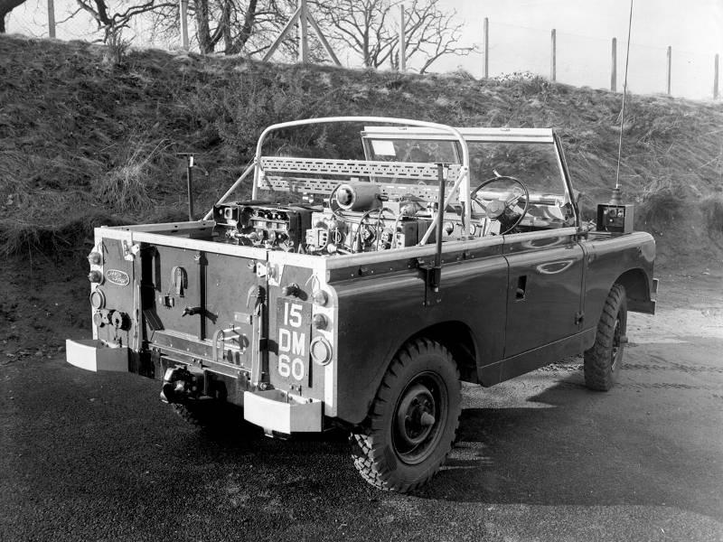 Safari Engineering Land Rover Specialists in Eversley Military Series 2 Land Rover