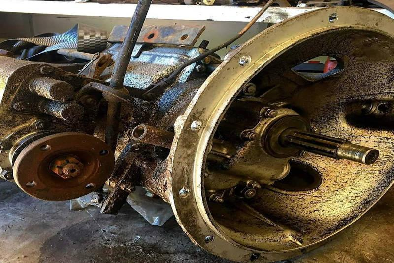Land Rover Series 2 Engine & Gearbox Rebuild and Overhaul