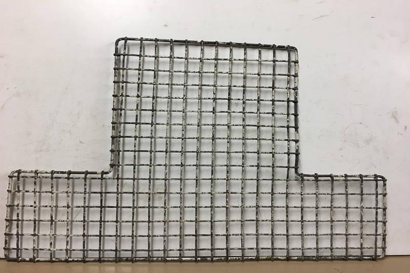 Safari Engineering Land Rover Specialist Hampshire - Land Rover Series 2 - Front Radiator Grill Part Number330149