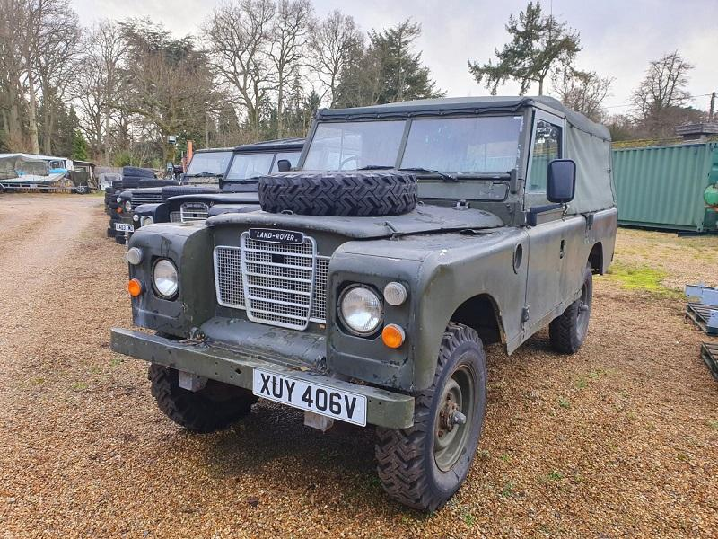 Safari Engineering Land Rover Specialist Eversley Vehicle Sale Land Rover LWB